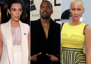 Rumor Bust! Kim K Did Not Kick Out Kanye West over Amber Rose Feud
