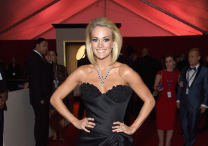 Carrie Underwood Wears Her Husband's Valentine's Day Jewels on Grammys Red…