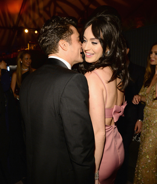 Katy Perry & Orlando Bloom's PDA-Packed Weekend