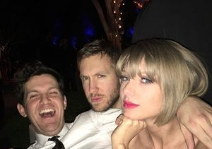 Taylor Swift Celebrates Grammy Wins with Calvin Harris
