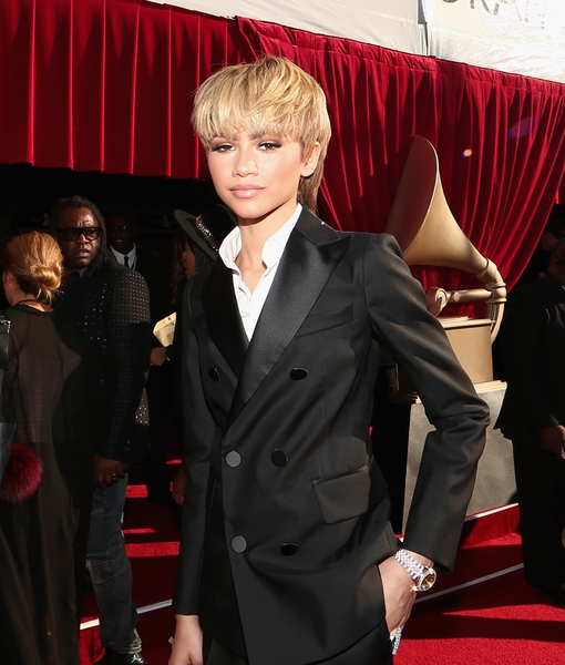Zendaya Debuts Mullet at the Grammys!