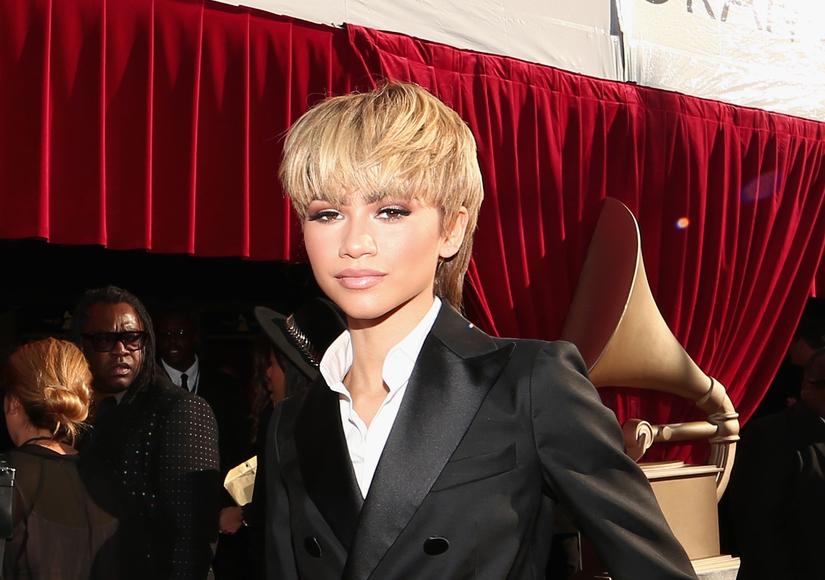 Zendaya Debuts Mullet at the Grammys!