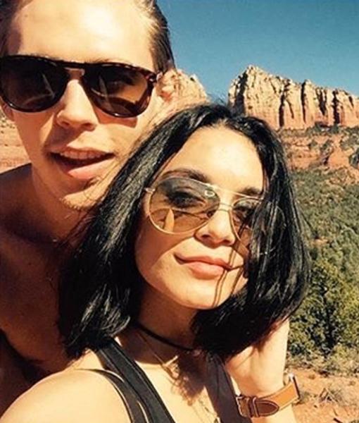 Vanessa Hudgens and Austin Butler Incident Under Investigation Over Rock Carving