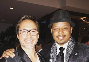 'Iron Man's' Robert Downey Jr. & Terrence Howard Are No…