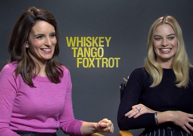 Tina Fey & Margot Robbie Chat About 'Whiskey Tango Foxtrot'