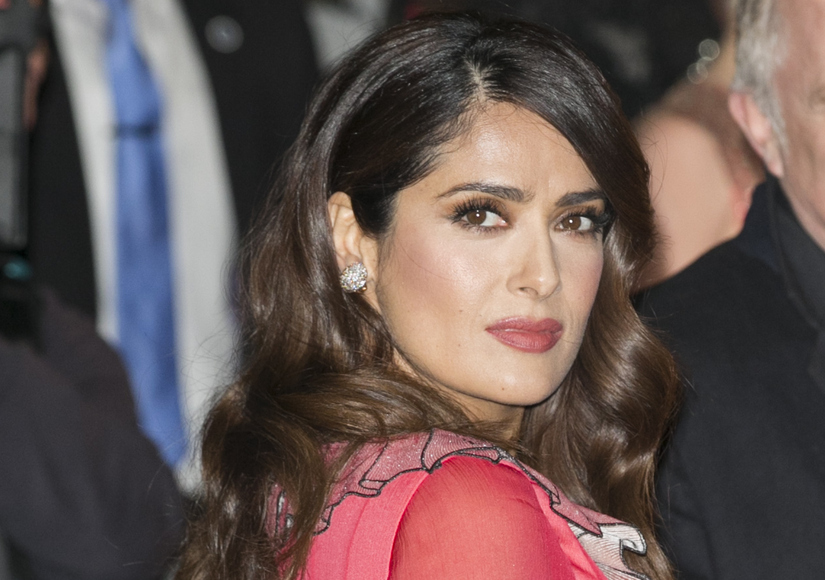 Salma Hayek's Heartache: Someone Shot Her Dog