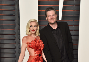 Gwen Stefani & Blake Shelton's Red-Carpet Debut at Vanity Fair Oscar Party
