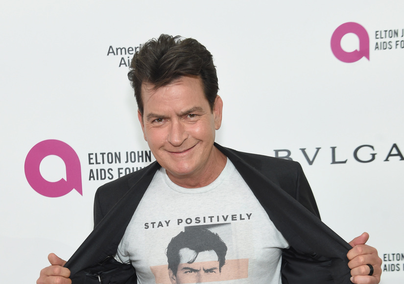 Charlie Sheen on His Well-Being: 'Not Bad for a Sick Guy'