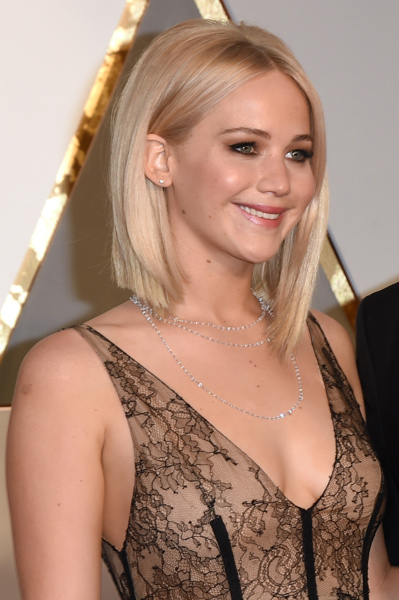 Jennifer Lawrence Is Sheer Perfection In Sexy Dior Oscars