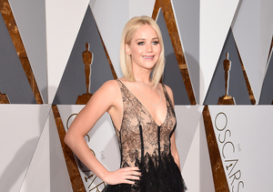 Jennifer Lawrence Is Sheer Perfection in Sexy Dior Oscars Dress