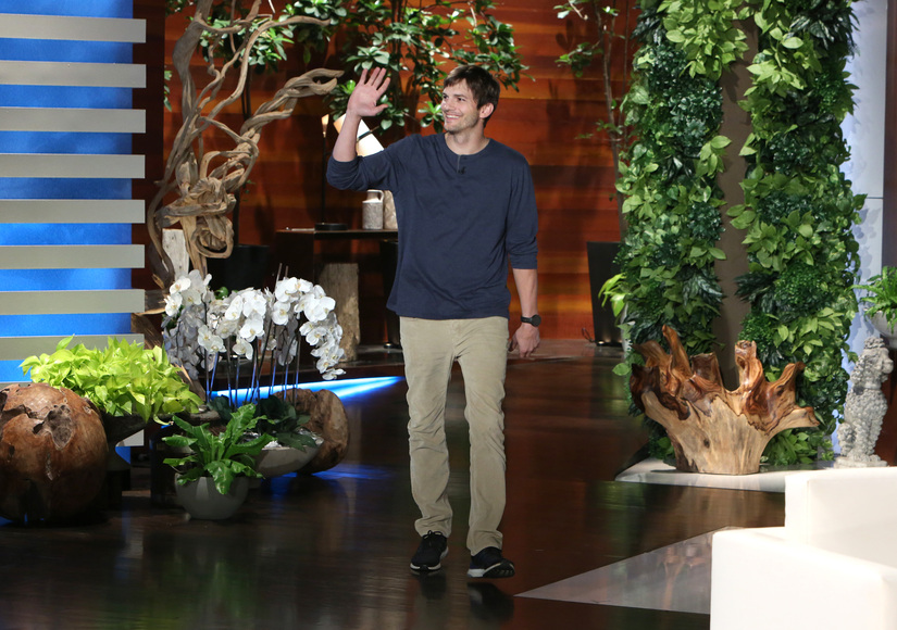 Ashton Kutcher Dishes on His Secret Wedding to Mila Kunis: 'It Was a Ninja…