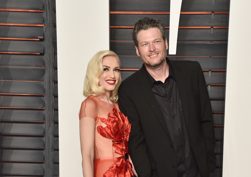 Gwen Stefani & Blake Shelton Carpool to 'The Voice' Live Show – Watch Her Snapchat!