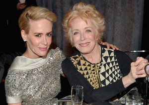 Sarah Paulson Confirms Holland Taylor Relationship: 'I Am in Love'