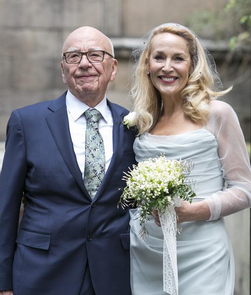 FOX Media Mogul Rupert Murdoch Weds Model Jerry Hall