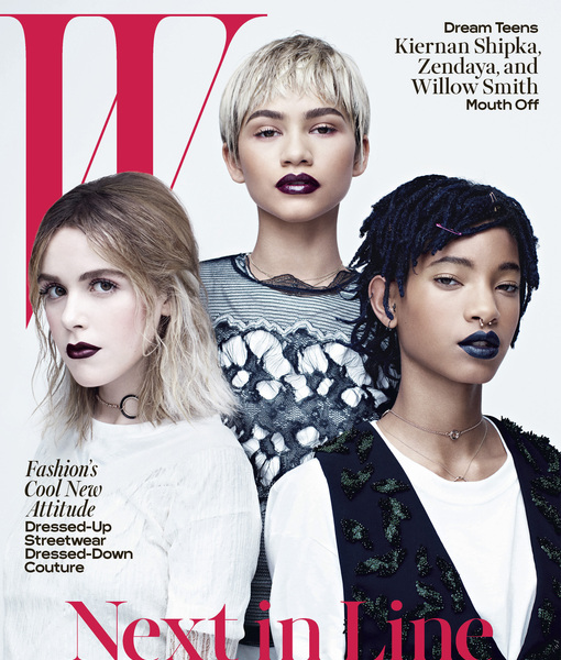 W April 2016 Cover