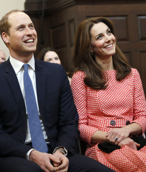 Rumor Bust! Prince William & Kate Middleton Not Being Crowned Next King…