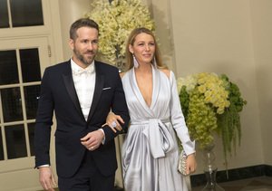 Ryan Reynolds & Blake Lively Turn Heads at White House State Dinner
