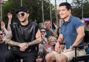 Adam Lambert Shows Off Tattoos, Admits 'I Am Fully Addicted'