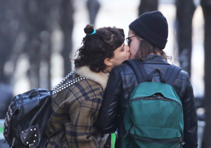 Kristen Stewart Seen Kissing French Singer SoKo in Paris — New Couple Alert?