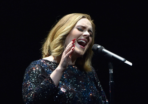 Adele Tears Up As Her Little 'Peanut' Angelo Sees Her Perform for the First Time