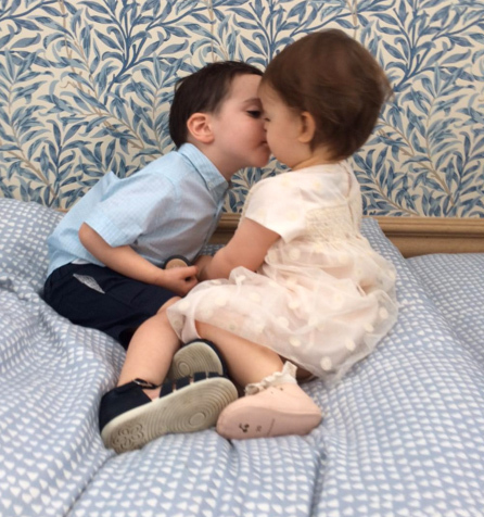 Terri Seymour's Daughter & Simon Cowell's Son Shared an Adorable Kiss