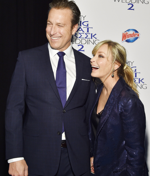 John Corbett & Bo Derek Enjoy Rare Date Night at 'My Big Fat Greek Wedding 2' Premiere