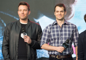 Ben Affleck and Henry Cavill Talk 'Batman v. Superman,' Ben Reveals Giant…