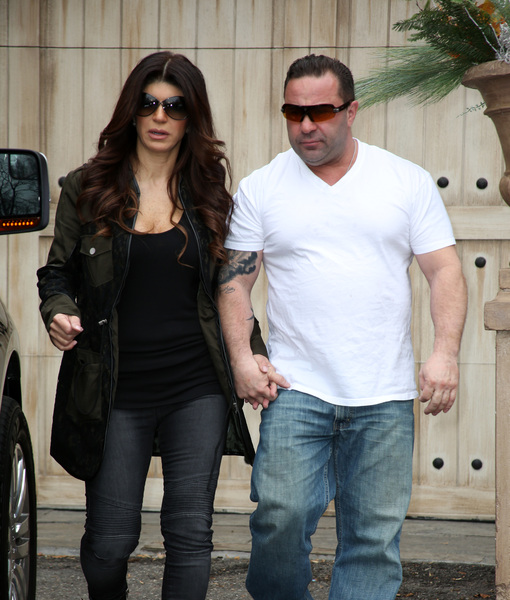 Joe & Teresa Giudice's Emotional Good-bye before He Serves Prison Sentence