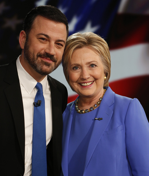 Jimmy Kimmel Mansplains Hillary Clinton's Speech Style, Suggests New Campaign Slogans