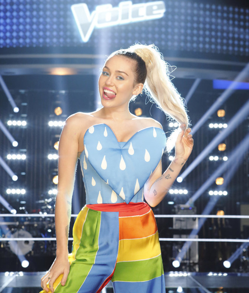 Miley Cyrus Joins 'The Voice' As Season 11 Coach
