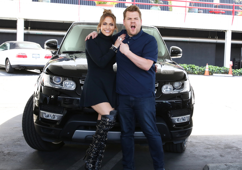 James Corden Trolled Through Jennifer Lopez's Cell Phone on 'Carpool Karaoke' Special