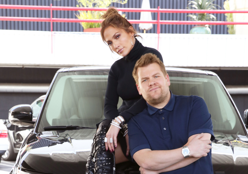 James Corden & Jennifer Lopez's Epic Text to Leonardo DiCaprio — How Did He Respond?