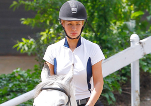 Iggy Azalea Goes Horseback Riding, Nick Young Speaks Out on Cheating Scandal