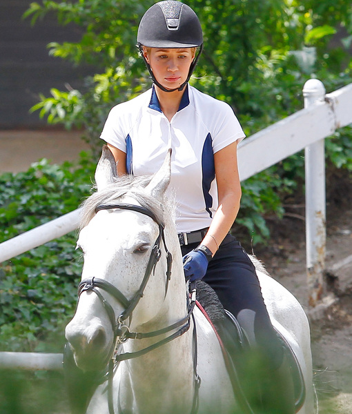 Iggy Azalea Goes Horseback Riding, Nick Young Speaks Out on Cheating Scandal
