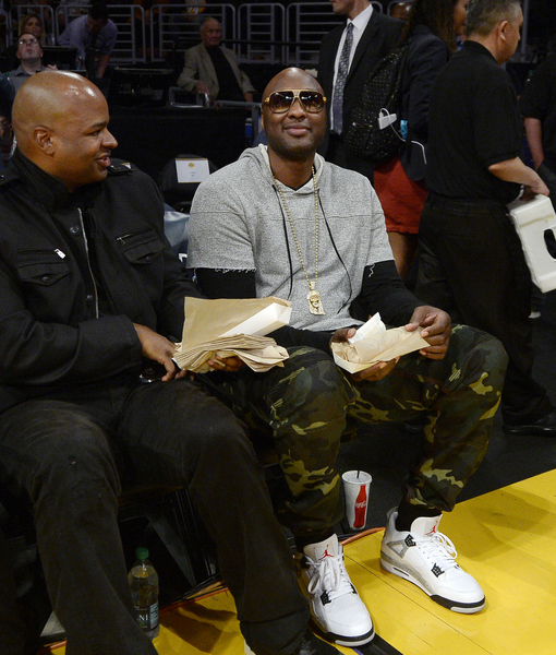 Lamar Odom's First Lakers Game Since His Near-Death Experience: 'I Got Goose Bumps'