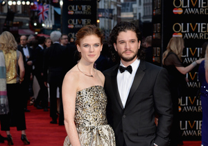'Game of Thrones' Lovers Kit Harington & Rose Leslie Go Public with Their…