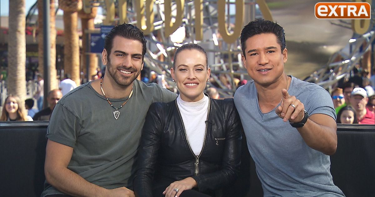 Nyle dimarco s twin brother can dance too extratv com