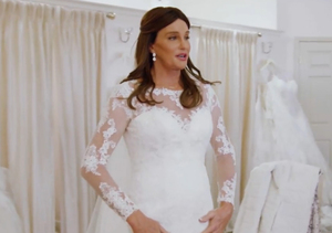 Caitlyn Jenner Wears Wedding Dress, Reflects on Past Marriages