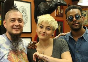 Paris Jackson Debuts New Tattoo Honoring Late Dad Michael Jackson