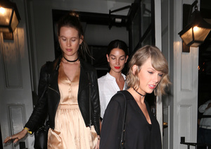 Squad Goals: Taylor Swift Has Girls' Night Out with Lily Aldridge & Behati…