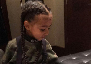 North West & Penelope Disick Now Have Hair Extensions!