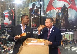 Sorry Not Sorry: John Kasich Comments on NY Pizza-gate and His Love for Justin…