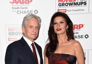 Michael Douglas & Catherine Zeta Jones' Kids Were Grossed Out by Their…