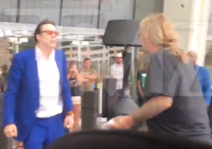 Video! Vince Neil & Nicolas Cage Brawl on the Las Vegas Strip