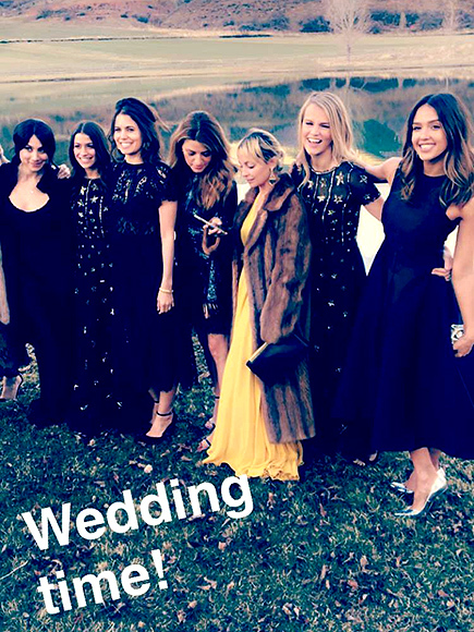 Imagine Having Katy Perry, Kate Hudson & Jessica Alba at Your Wedding?