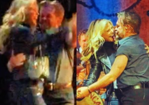 Christie Brinkley Dances with John Mellencamp