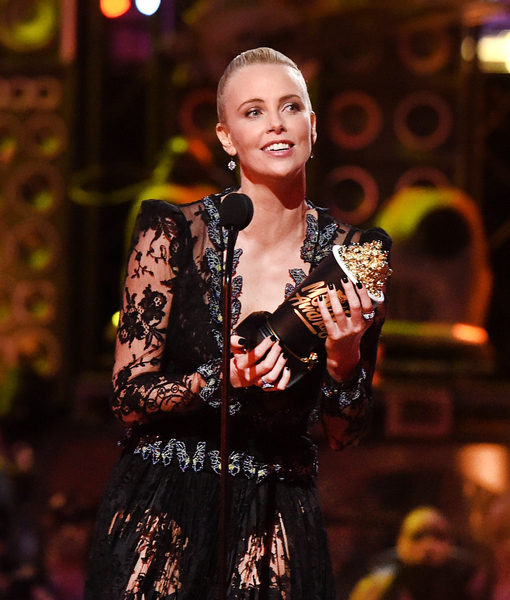 Charlize Theron's Heartfelt Acceptance Speech to Her Adopted Kids at MTV Movie Awards