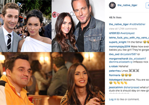 See Megan Fox's Response to All the Baby Daddy Speculation