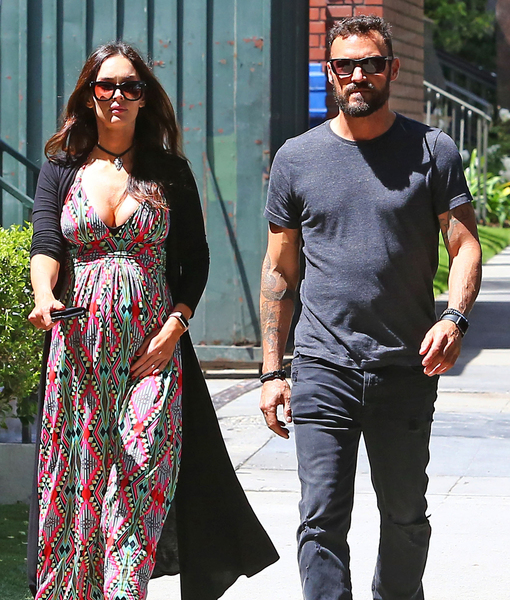 Megan Fox & Brian Austin Green Step Out Together After Her Surprise Pregnancy News