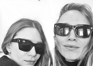 The Olsen Twins Pose for First Selfie!